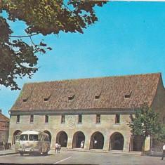 Bnk cp Sibiu - Casa artelor - circulata - Carte Postala Transilvania dupa 1918, Printata