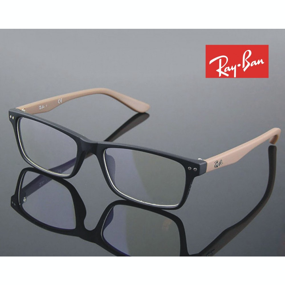 db1642df04 Rame ochelari de vedere Ray Ban - 60718 Negru cu maro foto. Mărește imagine