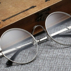 Rame ochelari de vedere rotunzi John Lennon rotunzi -argintiu 18358