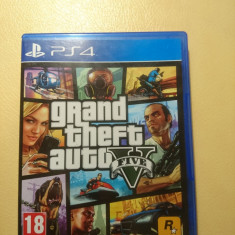 Grand Theft Auto V PS4 - Jocuri PS4, Role playing, 18+