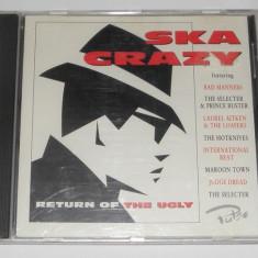 CD Ska Crazy (Return Of The Ugly) -comp Judge Dread, Bad Manners original UK, VG - Muzica Rock