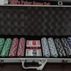 Poker 500j diplomat aluminiu 11, 5g NOU - Poker chips