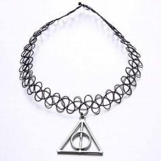 Choker Harry Potter - Talismanele Mortii / The Deathly Hallows