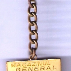 (6) BRELOC MAGAZINUL GENERAL, BOTOSANI - Insigna