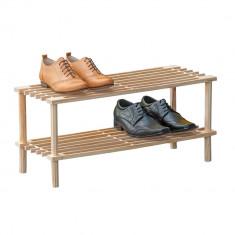 Suport pantofi lemn pin ST4 - Pantofar hol