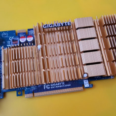 217B.Placa Video Gigabyte GeForce 8500 GT, 256MB DDR2-128Bit, PCI-e, VGA-DVI - Placa video PC Gigabyte, PCI Express, nVidia