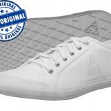 Adidasi barbat Le Coq Sportif Deauville Plus - tenisi originali - tenisi vara - Tenisi barbati Le Coq Sportif, Marime: 43, Culoare: Alb, Textil