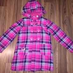 Palton ptr Fetite de 7-8 ani(122-128 cm), Marime: Marime universala, Culoare: Roz