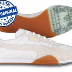 Adidasi dama Puma Sacramento ST - adidasi originali - piele naturala, Culoare: Alb, Marime: 38.5, 39