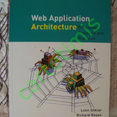 Web Application Architecture (in lb. Engleza) - Carte retelistica