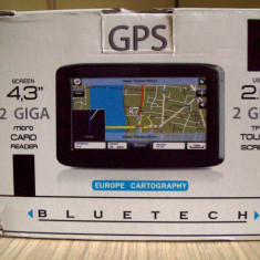 GPS Blue Tech NVA 043001 - Navigatie auto, Universal