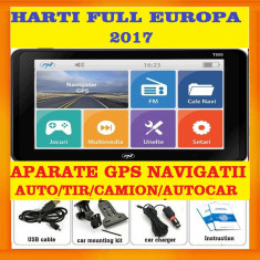 GPS Navigatii 800 MHz, 256M DDR3, 8GB GPS CAMION,GPS TIR  HARTI Full Europa 2017