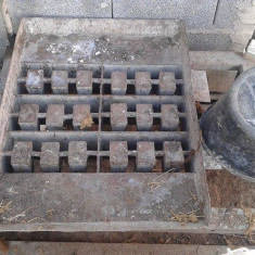 Vand presa pt facut boltari din beton - Presa hidraulice
