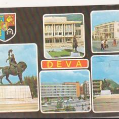 Bnk cp Deva - Vedere - circulata - marca fixa - Carte Postala Transilvania dupa 1918, Printata