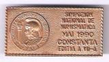 (5) INSIGNA  SIMPOZION NATIONAL DE NUMISMATICA CONSTANTA  MAI 1990