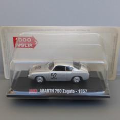 Abarth 750 Zagato Mille Miglia 1957, 1/43 - Macheta auto
