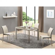 Set masa HM Arabis plus 4 scaune K182 - Set mobila living