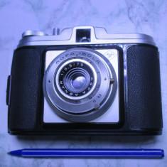 Aparat foto vechi Agfa Isola obiectiv colapsabil pliabil anii 50 functional - Aparat de Colectie