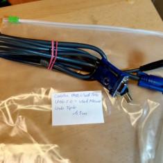 Cablu VGA tata + Usb 2.0 - VGA Mama + Usb tip b 1, 1m - Cablu PC