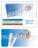 CLUB ELEGANT - 10 cutii tuburi tigarifiltru alb pentru injectat tutun x 200 buc