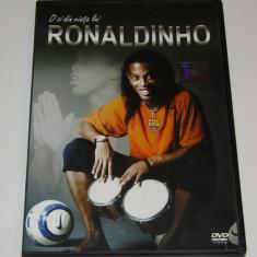 "DVD fotbal - ""O ZI DIN VIATA LUI RONALDINHO"""
