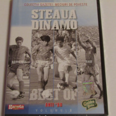 DVD fotbal STEAUA BUCURESTI - DINAMO BUCURESTI (anii `80)