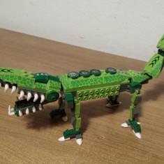 Crocodil tip LEGO - Set de constructie, 6-8 ani, Baiat