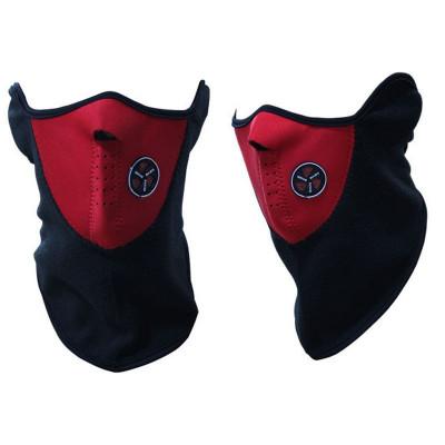 masca protectie fata din neopren, pt paintball, ski, airsoft, cagula rosie foto
