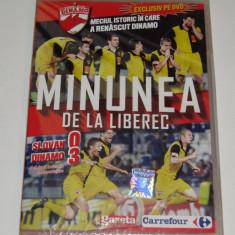 DVD fotbal SLOVAN LIBEREC - DINAMO BUCURESTI