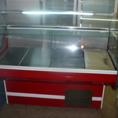Vitrina/lada /vitrine frigorifice, cu geam curbat, noi, garantie, 1m - Vitrina Frigorifica