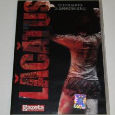 DVD fotbal - jucatorul LACATUS