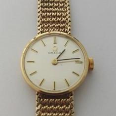 Ceas Omega din aur 9k - Ceas dama Omega, Mecanic-Manual