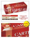 Tuburi de tigari Cartel cu aroma de CAPSUNI - set / 2.000 tuburi pentru tutun