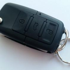 Carcasa cheie tip briceag VW, Audi, Skoda, Seat 3 butoane aftermarket