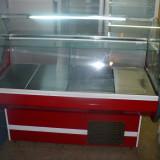 Vitrina /vitrine frigorifice,cu geam curbat,noi,garantie,1,3m