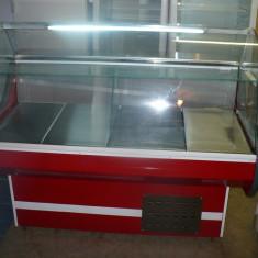 Vitrina /vitrine frigorifice, cu geam curbat, noi, garantie, 1, 3m - Vitrina Frigorifica