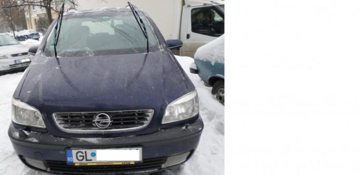 Opel Zafira foto mare