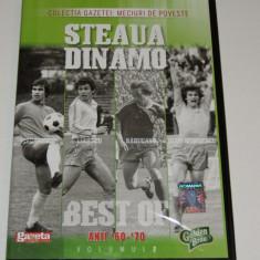 DVD fotbal STEAUA BUCURESTI - DINAMO BUCURESTI (anii`60 - `70)
