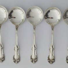 Set de lingurite din argint Sterling