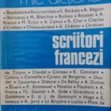 Scriitori francezi - mic dictionar