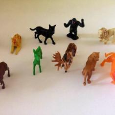 Lot 11 figurine animale salbatice / zoo, cca 4-5cm, colectie, decor, diorama - Figurina Animale