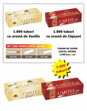SET - Tuburi de tigari Cartel AROMA - set / 2.000 tuburi vanilie si capsuni