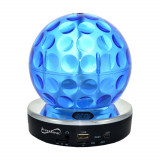 GLOB DISCO ROTATIV CU LUMINI COLORATE,MP3 PLAYER,IDEAL CLUB,BAR,MAGAZINE,ACASA.