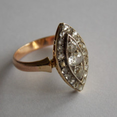 Inel de aur cu diamante -2ct -633