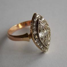 Inel de aur cu diamante -2ct -633 - Inel aur, Carataj aur: 18k, Culoare: Galben