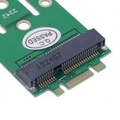 Adaptor NGFF M2 B SSD la MSATA - Adaptor interfata PC