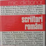 Scriitori romani - mic dictionar