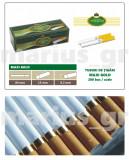 MAXI GOLD 200 - Pachet 10 cutii tuburi de tigari x 200 buc pentru tutun, 2.000