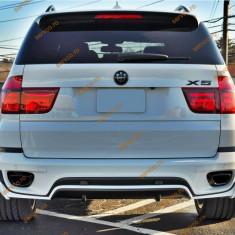 Prelungire bara spate BMW X5 E70 LCI Aero pachet M tech - Prelungire bara spate tuning, X5 (E70) - [2007 - 2013]