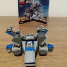Lego Star Wars Microfighters (nava spatiala) - Set de constructie, 6-8 ani, Baiat